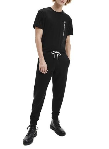 Calvin Klein  Pamuklu Regular Fit Eşofman Altı Erkek Eşofman Altı J30J318306 Beh Siyah
